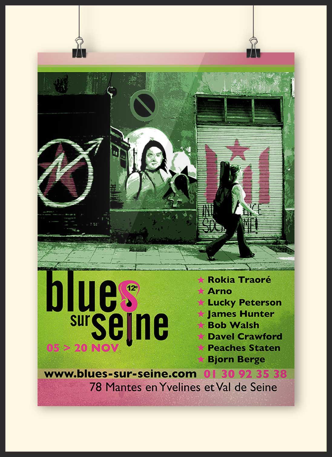 Affiche Blues sur Seine